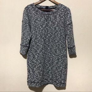 Banana Republic Sweatshirt Dress Medium Petite